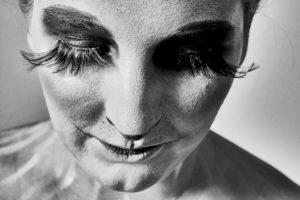 'Panda' , mua + model: Natalia Kowlewska